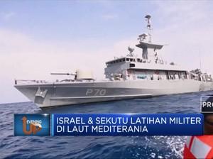 Israel & Sekutu Latihan Militer di Laut Mediterania
