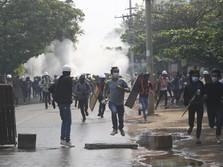 Tanda Bahaya China di Myanmar! Pabrik-pabrik China Dibakar