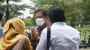 Intip Vaksinasi Covid-19 3-In-1 di Tangerang