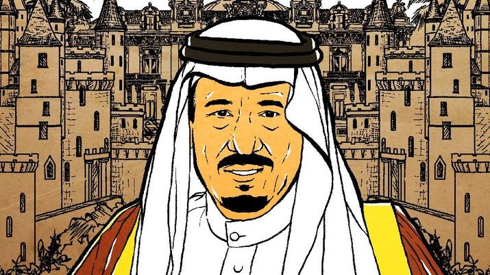 Infografis: Raja Salman Paling Tajir Sedunia