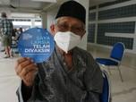 Vaksinasi Lansia di Istora Senayan Bisa Langsung Go-Show?