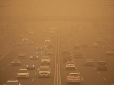 Terjadi Badai Pasir di Beijing, Polusi Udara Kacau Balau