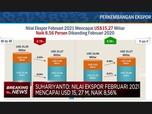 BPS: Neraca Dagang Februari 2021 Surplus USD 2,01 M