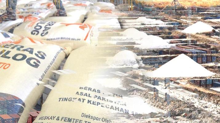 [DALAM] Impor Garam & Beras