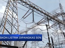 Diskon Listrik Dipangkas 50%