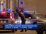 Infeksi Virus Corona Naik 15%, Italia Kembali Lockdown Ketat