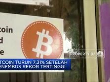 Bitcoin Kembali Turun setelah Tembus USD 61 Ribu per BTC