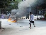 Ngeri! Dokter dan Perawat Myanmar Ikut Demo Tolak Kudeta