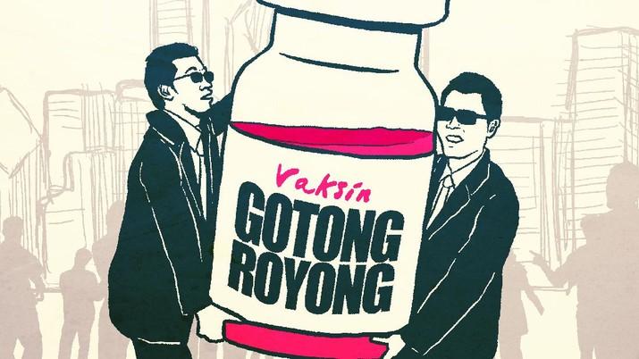 Infografis: Sederet Fakta Vaksinasi Gotong Royong, Simak!
