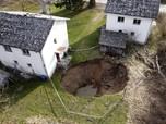 Ngeri, Ada Lubang Besar Misterius Muncul di Rusia
