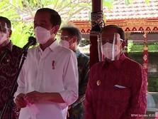 Tinjau Vaksinasi Bali, Jokowi Bicara Herd Immunity Covid-19