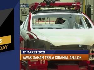 PDB RI Diramal Gagal Tumbuh 5% Hingga Ramalan Saham Tesla