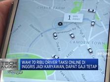 70 Ribu Driver Taksi Online Di  Inggris Jadi Karyawan