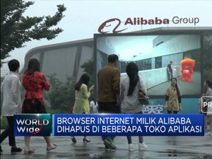 Browser Internet Alibaba Dihapus di Toko Aplikasi China