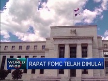 FOMC Dimulai, The Fed Diprediksi Pertahankan Suku Bunga