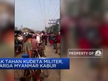 Gerah dengan Kudeta Militer, Warga Myanmar Kabur