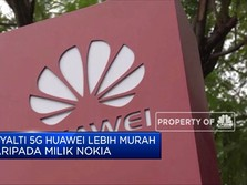 Huawei Kenakan Royalti Ke Pengguna Teknologi 5G