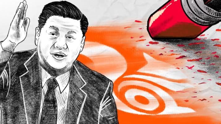 Infografis/Jreng! Xi Jinping Hapus Browser Alibaba/Aristya Rahadian