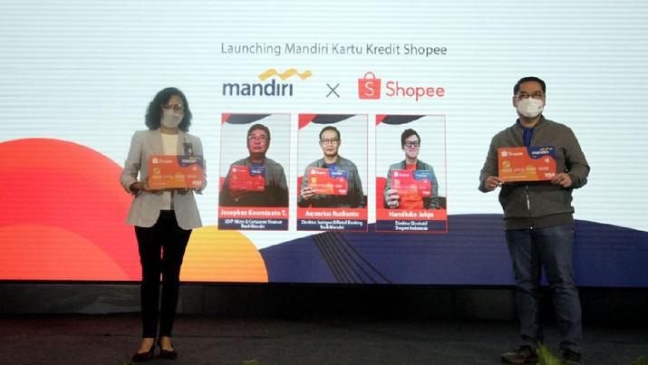 Launching Mandiri Kartu Kredit Shopee (Dok. Mandiri)