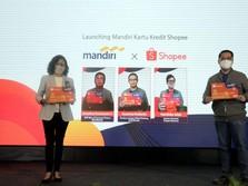 Incar Milenial, Bank Mandiri & Shopee Luncurkan Kartu Kredit