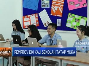 Pemprov DKI Kaji Sekolah Tatap Muka