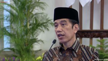 presiden joko widodo dalam peresmian pembukaan kongres xx pergerakan mahasiswa islam indonesia tahun 2021 17 maret 2021 tangka 6 169