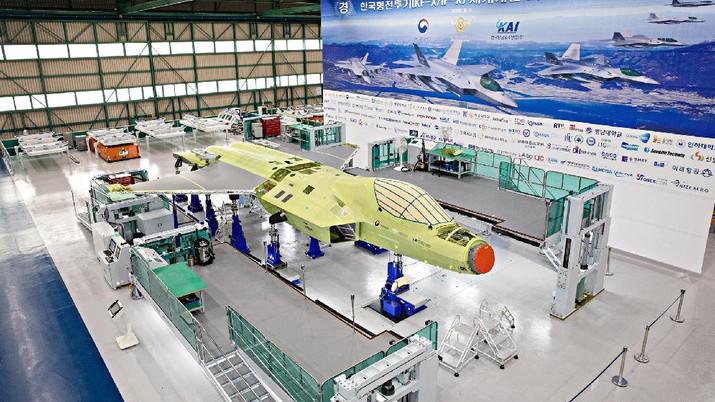 Proyek Jet Tempur KFX. (Photo via Korea Aerospace Industries Ltd.(KAI))
