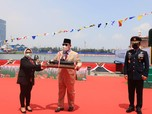 Penampakan Gagahnya Kapal Selam Buatan RI Bersama Prabowo