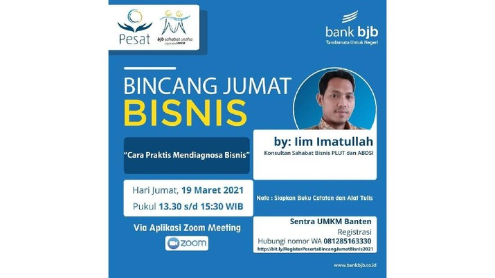 Bincang Jumat Bisnis  (dok. bank bjb)