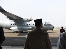 Sangar! Penampakan CN-235 yang Diserahkan Prabowo ke Senegal