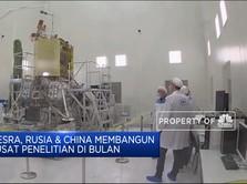 Mesra, Rusia & China Bangun Pusat Penelitian Di Bulan