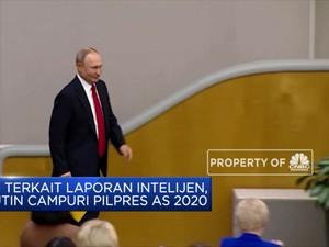 Presiden AS Sebut Presiden Rusia Vladimir Putin 'Pembunuh'