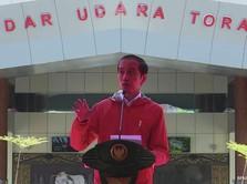 Top Jokowi! Resmikan 2 Bandara Sekaligus di Tana Toraja