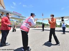 Detik-detik Presiden Jokowi Resmikan Bandara Toraja Rp800 M