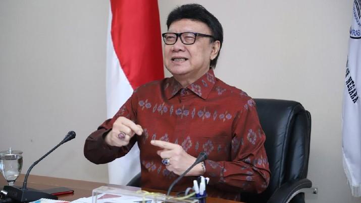 Menteri Pendayagunaan Aparatur Negara dan Reformasi Birokrasi (PAN-RB) Tjahjo Kumolo (Dok. Humas MenPANRB)