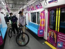 Bukti Orang Berani Bepergian, Penumpang MRT Melesat 142%