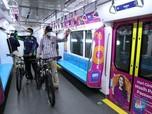 Dear Pesepeda, Sepeda Non Lipat Bisa Dibawa Masuk MRT Lho