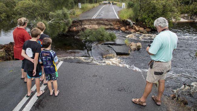 Australia Dilanda Banjir Terparah Dalam 50 Tahun