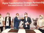 Transformasi Digital, BRI Jalin Kerjasama Dengan Microsoft