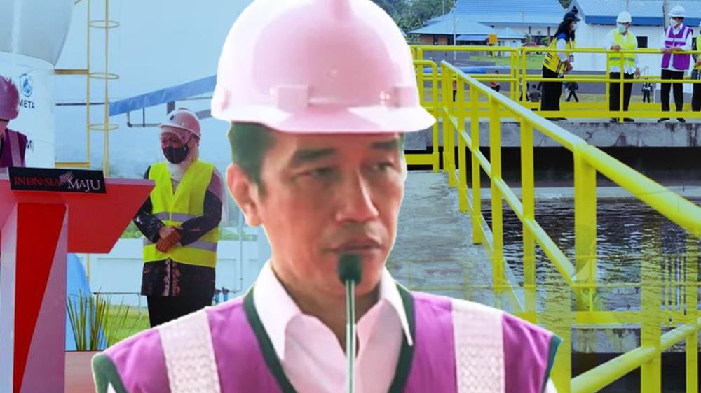 Saat Proyek Air Minum Zaman Soeharto Dieksekusi Jokowi
