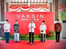 Jokowi Kutip Omongan Kiai: Vaksin AstraZeneca Halal & Baik