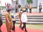 Wapres Ma'ruf Amin Blusukan ke Proyek Bendungan Jokowi