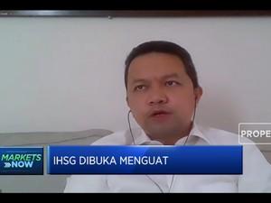 IHSG Sempat Menguat Tapi Masih Ragu