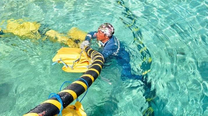 kabel bawah laut (Ist Dokumentasi PLN)