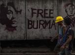 Myanmar Ditinggal, Industri Garmen ke Konstruksi 'Mati Suri'