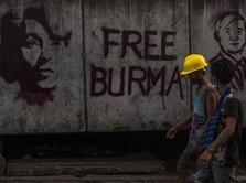 Myanmar 'Mabuk' Sanksi, 2 Perusahaan Raksasa Diblacklist AS
