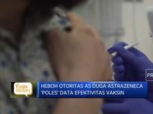AS Duga Astrazeneca Poles Data Efektivitas Vaksin