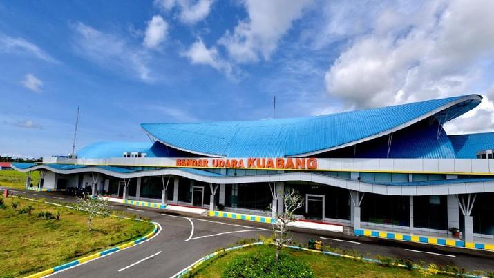 Bandar Udara Kuabang (Biro Setpres RI)