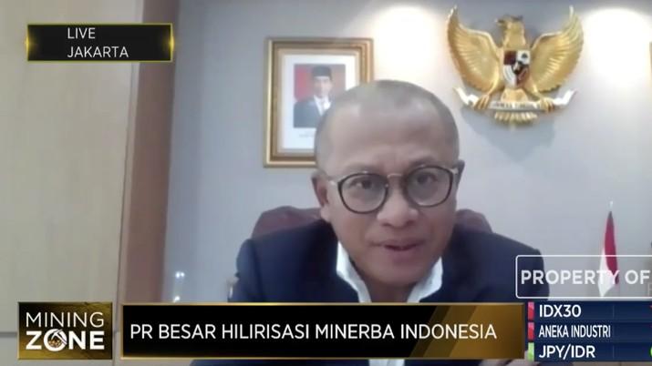Direktur Utama PT Bukit Asam Tbk (PTBA) Arviyan Arifin.