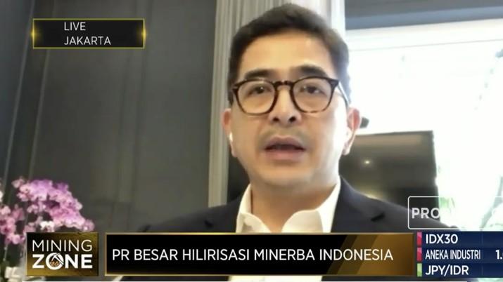 Direktur Utama PT Indika Energy Tbk (INDY) Arsjad Rasjid